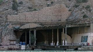 Вход на подземный завод по ремонту подводных лодок