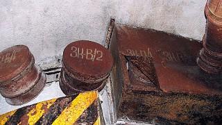 Экспонаты подземного музейного комплекса