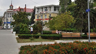 Екатерининский сквер (по улице Ленина)