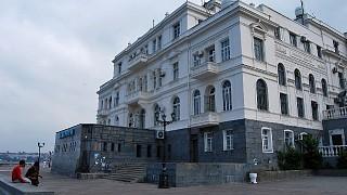 Здание Аквариума-музея на Приморском бульваре