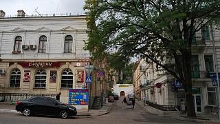Улица Ленина, поворот на улицу Марата