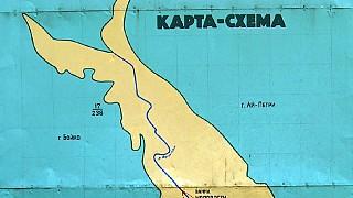 """Карта-схема заказника """"Большой каньон Крыма"""""""