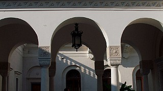 Западный фасад Ливадийского дворца
