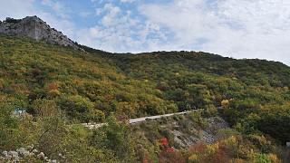 Трасса в горах
