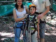 Веревочный парк приключений - отличное развлечение для всей семьи!
