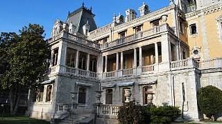 Западный фасад Массандровского дворца