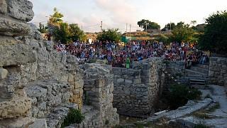Античный театр древнего Херсонеса — театр под открытым небом