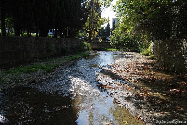 Ялтинская речка Дерекойка