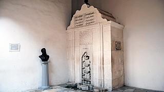 Знаменитый бахчисарайский фонтан, воспетый Пушкиным