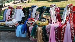 Прокат костюмов на территории Ханского дворца