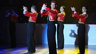 Танец испанских мачо