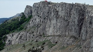 Южный склон Никитской яйлы