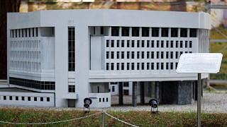 Миниатюра здания Верховного Совета Крыма в Симферополе