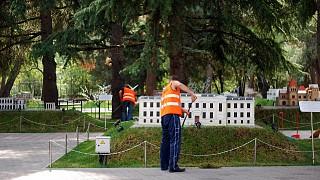 Уборка парка