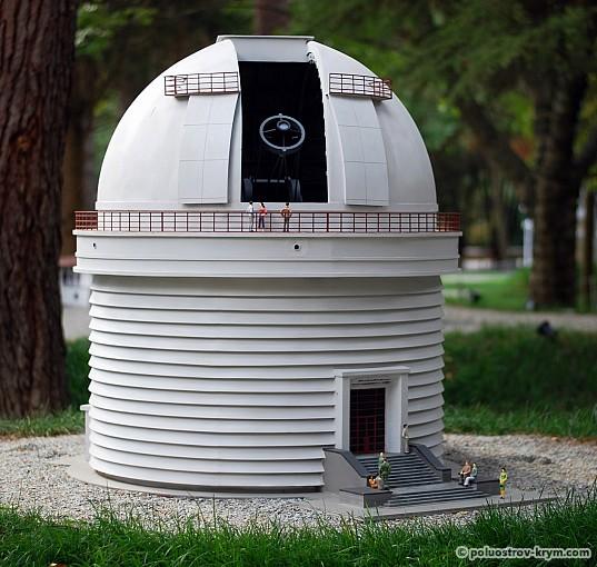 """Миниатюра """"Крымская астрофизическая обсерватория в Научном"""""""