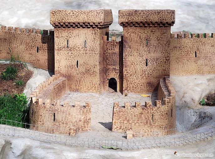 """Миниатюра """"Судакская крепость"""""""