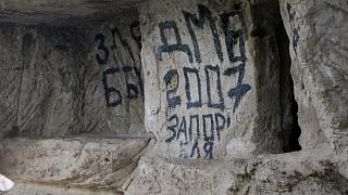 Настенные надписи варваров XX века