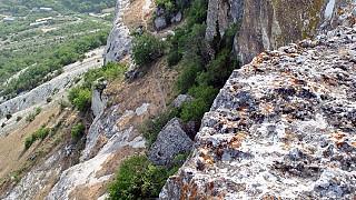 Неприступные склоны Тепе-Кермена