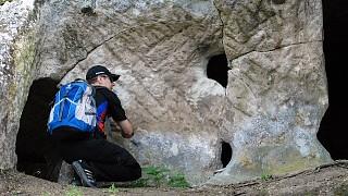 """""""Нижние"""" пещеры Тепе-Кермена"""