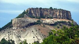 Вид на гору из долины