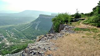 Вид с западного склона