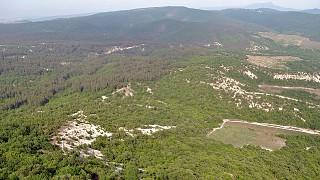 Вид с восточного склона горы Тепе-Кермен