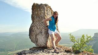 Знаменитый камень на южном мысу скалы