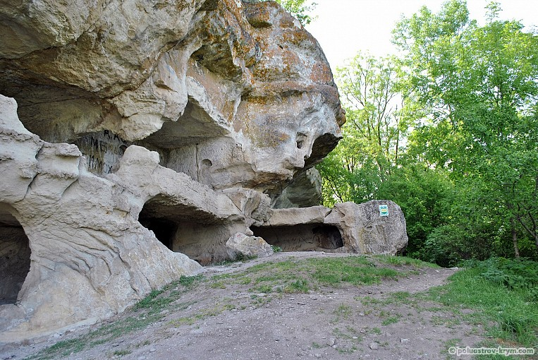 Природные строения города-крепости Тепе-Кермен