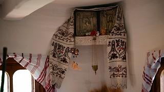 Красный угол в украинской хате