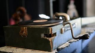 Старый граммофон