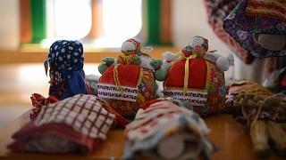 В такие куклы играли в детстве наши прабабушки