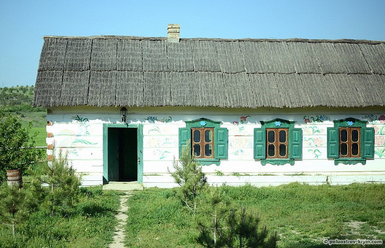 Одна из крестьянских хат