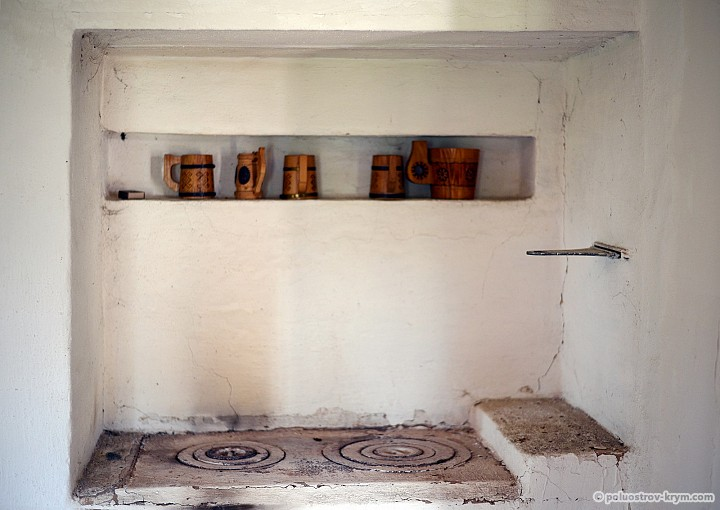 Старинная печь