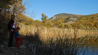 Вид на плотину