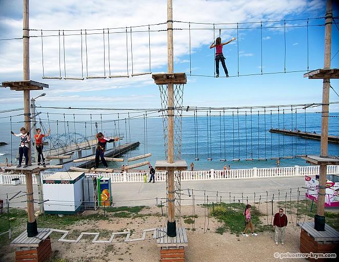 """Веревочный парк """"Остров Сокровищ"""" - здоровый отдых!"""