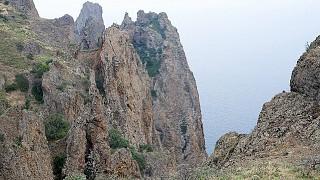 Неприступные скалы Карадага