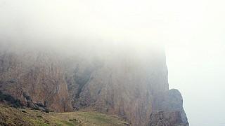 На Карадаг спустился туман