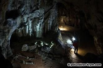 Северная галерея пещеры