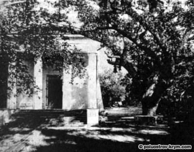 Церковь Иоанна Предтечи в Массандре. 80-е годы XIX в. Арх. Ф. Эльсон