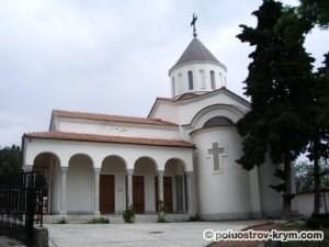 Церковь Покрова Божией Матери в Нижней Ореанде