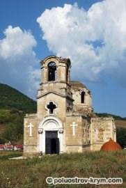Храм святого Луки в селе Лаки. 2010 год. Автор фото Ольга Иутина