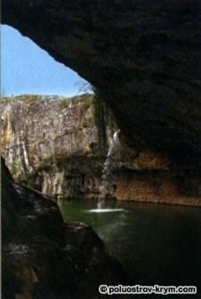 Водопад Мердвен-Тобе. Крым