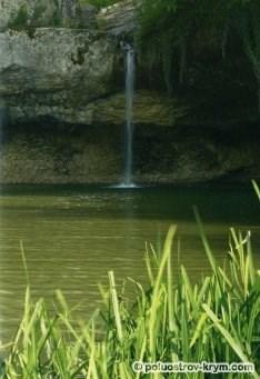 Водопад Мердвен-Тобе