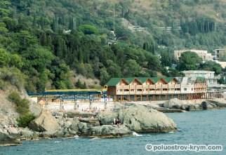 Алупкинское побережье. Крым. Фото Ольги Иутиной