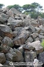 Нижний парк. Большой каменный хаос. Фото Ольги Иутиной