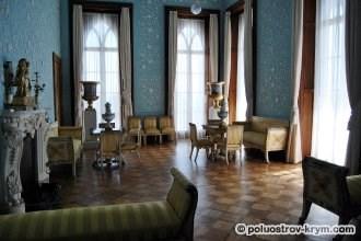 Воронцовский дворец. Голубая гостиная. Фото Ольги Иутиной