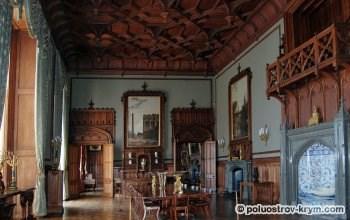 Воронцовский дворец. Парадная столовая. Фото Ольги Иутиной