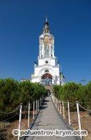 Церковь святителя Николая. Село Малореченское. Крым. Фото Ольги Иутиной