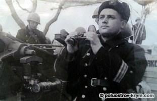 Командир 19  батареи капитан М.С. Драпушко