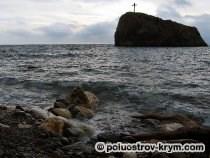 Скала Святого Явления на мысе Фиолент. Автор фото Ольга Иутина